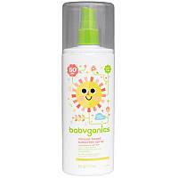 Солнцезащитный спрей, 50+ SPF (Sunscreen Spray), BabyGanics,177 мл