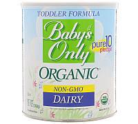 Baby's Only Organic, Формула для малышей, Молочный продукт, обогащенный железом, 12.7 oz (360 г), фото 1