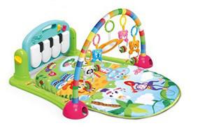 Развивающий коврик-пианино для малышей (САЛАТОВЫЙ) арт. 0603