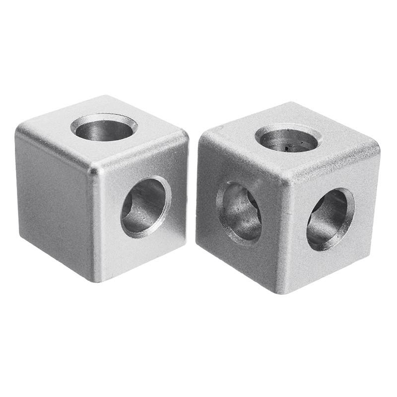 Suleve ™ AC40 40 × 40 мм Алюминиевый угол Коннектор Угловой угловой кронштейн 4040 Алюминиевый профиль 1TopShop