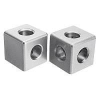 Suleve ™ AC40 40 × 40 мм Алюминиевый угол Коннектор Угловой угловой кронштейн 4040 Алюминиевый профиль - 1TopShop