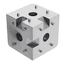 Suleve ™ AC40 40 × 40 мм Алюминиевый угол Коннектор Угловой угловой кронштейн 4040 Алюминиевый профиль 1TopShop, фото 2