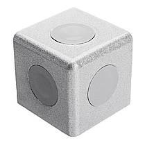Suleve ™ AC40 40 × 40 мм Алюминиевый угол Коннектор Угловой угловой кронштейн 4040 Алюминиевый профиль 1TopShop, фото 3