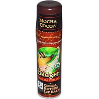 Бальзам для губ с какао маслом, кофе, Badger Company, 7 г