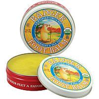 Бальзам для ног, мята и чайное дерево, Badger Company, 56 г