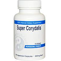 Balanceuticals, Супер хохлатка, 500 мг, 60 растительных капсул