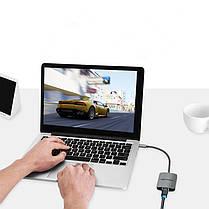 Vention Сетевой адаптер USB C от Type-C до RJ45 Сетевой адаптер сетевой карты LAN Lan 100Mbps для Mac - 1TopShop, фото 2