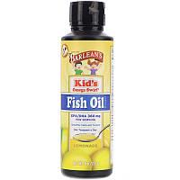 Рыбий жир для детей, Omega Kid's Swirl, Fish Oil, Barlean's, Лимонад, 227 мл.