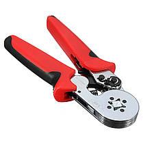 0.25-10 мм2 Саморегулирующаяся клеммная жгутовая прокладка Обжимная плоскогубцы Ratchet Инструмент - 1TopShop, фото 2
