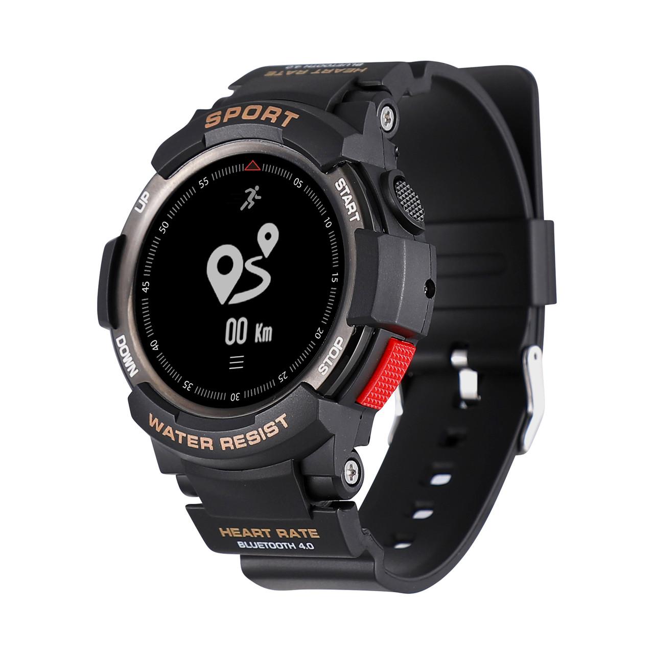 NO.1F60.96inchOLEDДисплей50Days USE Сердце Оценка Монитор 50 метров Водонепроницаемы Sport Smart Watch - 1TopShop
