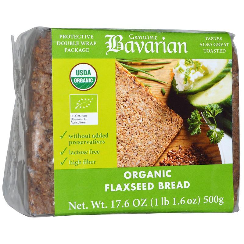 Хлеб с семенами льна, Flaxseed Bread, Bavarian Breads, 500 г