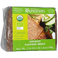 Хлеб с семенами льна, Flaxseed Bread, Bavarian Breads, 500 г, фото 1