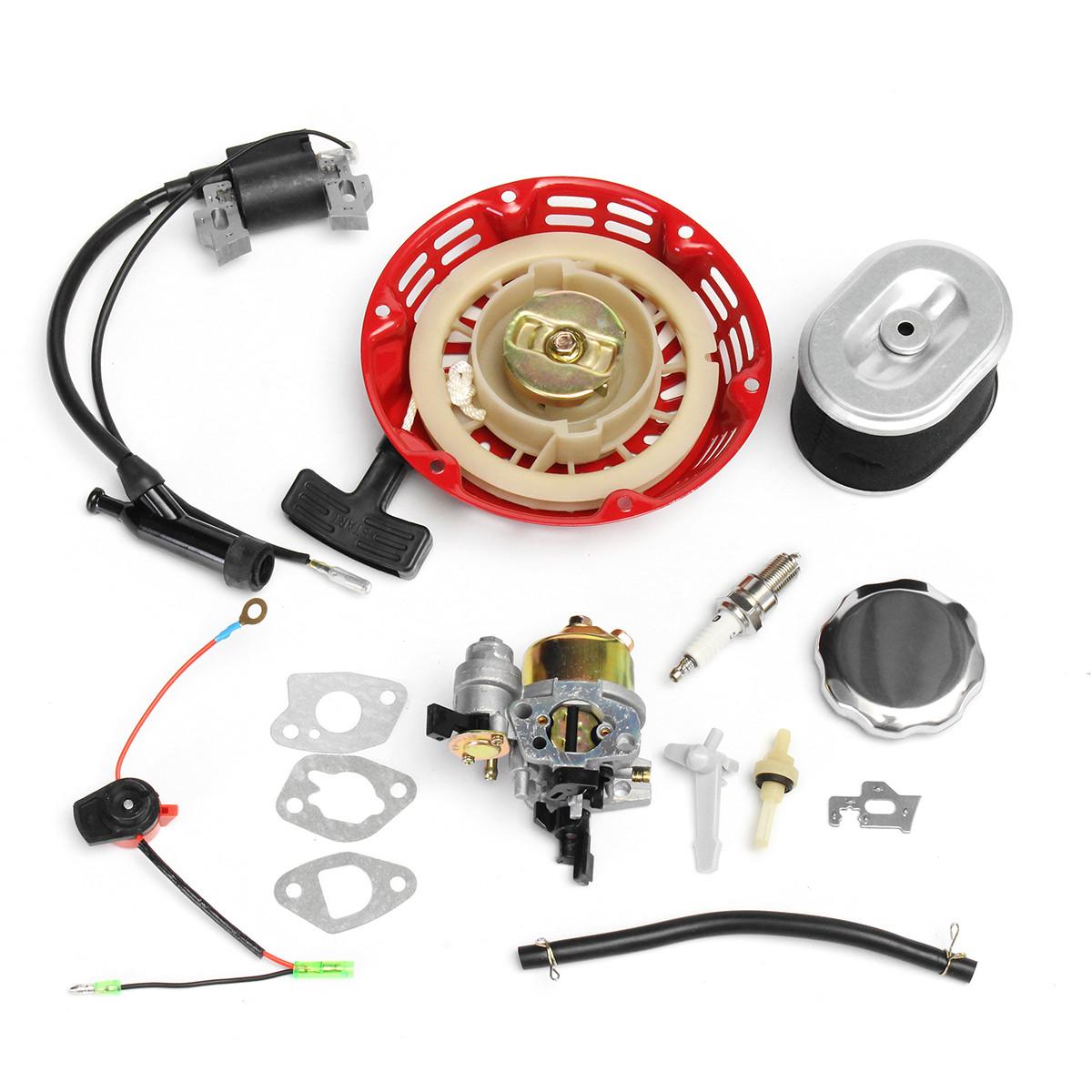 Катушка карбюратора Катушка зажигания Spark Заглушка Воздушный фильтр Газ для Honda GX160 GX200 1TopShop