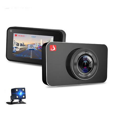 JunsunH9ADASАвтоВидеорегистраторкамера Полный HD 1080P Двойной Объектив 3 дюймов Dash Video Recorder 1TopShop, фото 2
