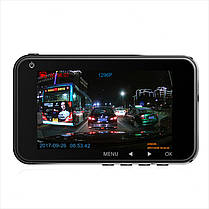 JunsunH9PADASАвтоВидеорегистраторкамера Полный HD 1296P Двойной Объектив 3 дюймов Dash Video Recorder 1TopShop, фото 2