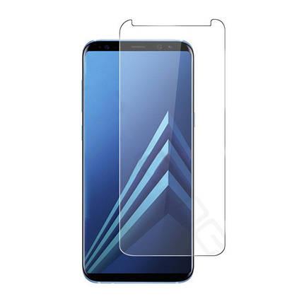 Защитныйэкрандляэкранасзакругленными стеклами из дуги Edge для Samsung GalaxyA8Plus2018 1TopShop, фото 2