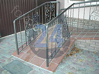 Кованые ограждения лестниц, перил и балконов