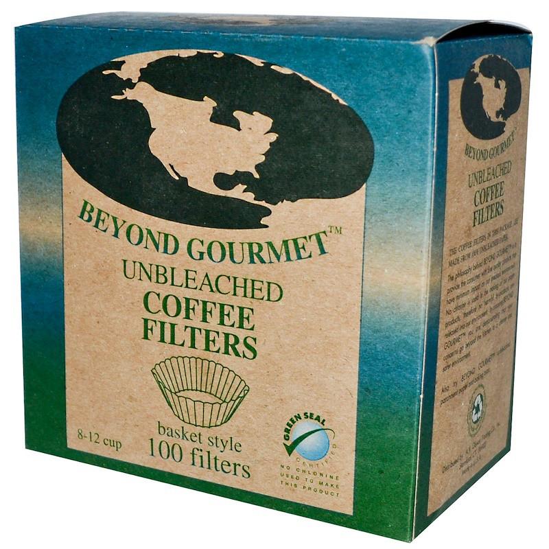 Фильтры для кофе, Unbleached Coffee Filters, Basket Style, If You Care, 100 шт
