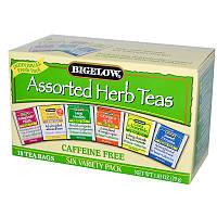 Травяной чай (асорти), Bigelow, 18 пакетов, 29 г