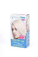 Краска осветлитель Supra МАХ Blond на 7 тонов + анти желтый эффект №3