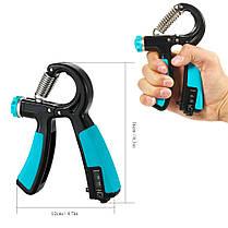 Raitool 10-40KG Регулируемая рукоятка Усилитель Тяжелый ручной тренажер для захвата захвата 1TopShop, фото 3