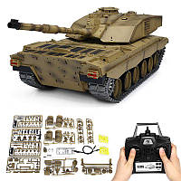 Henglong3908-11/162.4GКурениеБританский Challenger 2II RC Авто Battle Tank Metal Gearbox Toys 1TopShop
