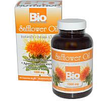 Сафлоровое масло, Bio Nutrition, 90 кап.