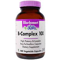 Витамин В-100 (комплекс), Bluebonnet Nutrition, 100
