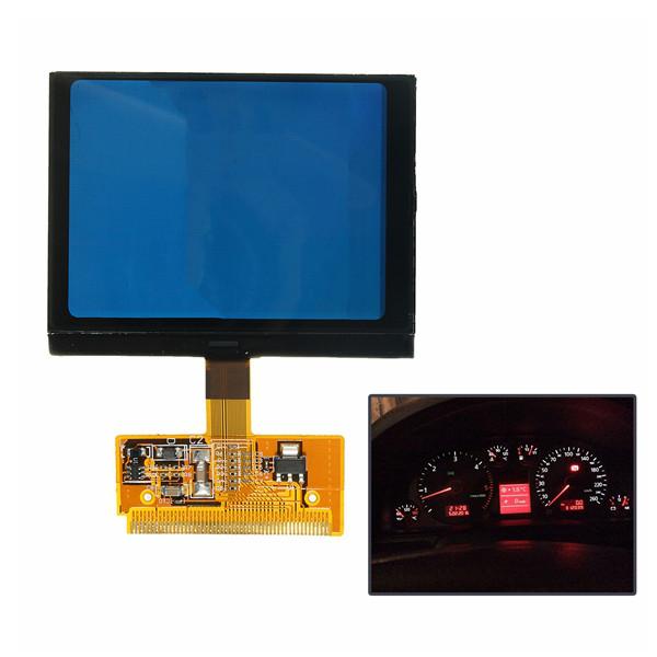 АвтомобильLCDVDOClusterSpeedometerДисплей Ремонт экрана для Audi A3 A4 A6 1TopShop