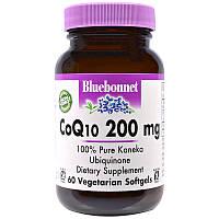 Коэнзим CoQ10, Bluebonnet Nutrition,60 кап.