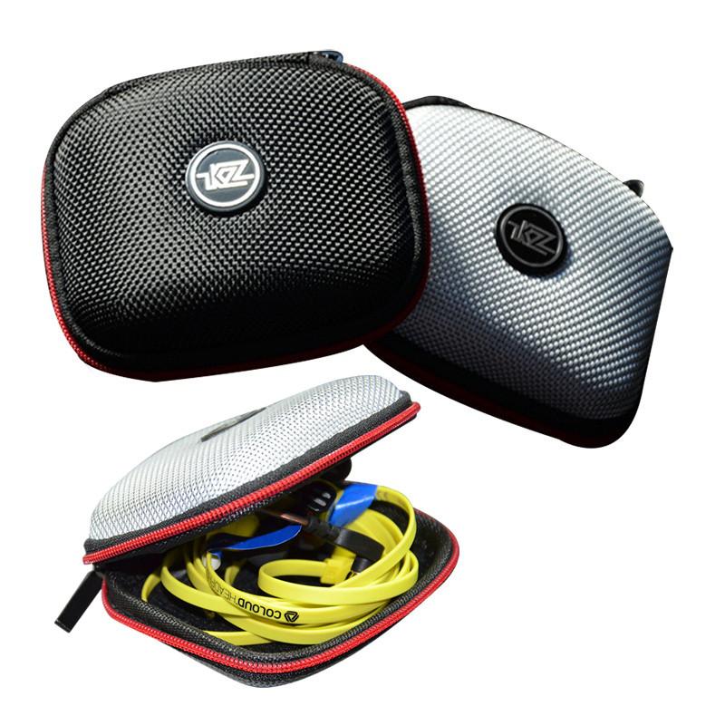KZ Портативный Наушник Сумка EVA Молния Защитное хранение Сумка для Наушник Кабельная зарядка Momery Card 1TopShop