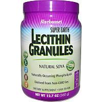 Лецитин, Lecithin Granules, Bluebonnet Nutrition, Гранулы, 360г