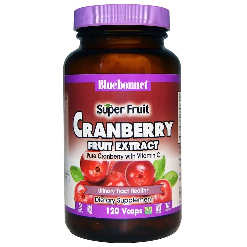 Экстракт клюквы, Bluebonnet Nutrition, 120 кап.