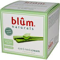 Крем для кожи вокруг глаз и декольте (Eye Neck Cream), Blum Naturals,(50 мл)