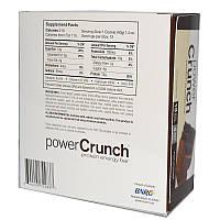 BNRG, Хрустящие, белковые, энергетические батончики, тройной шоколад, 12 батончиков, 1,4 унции (40 г) каждый