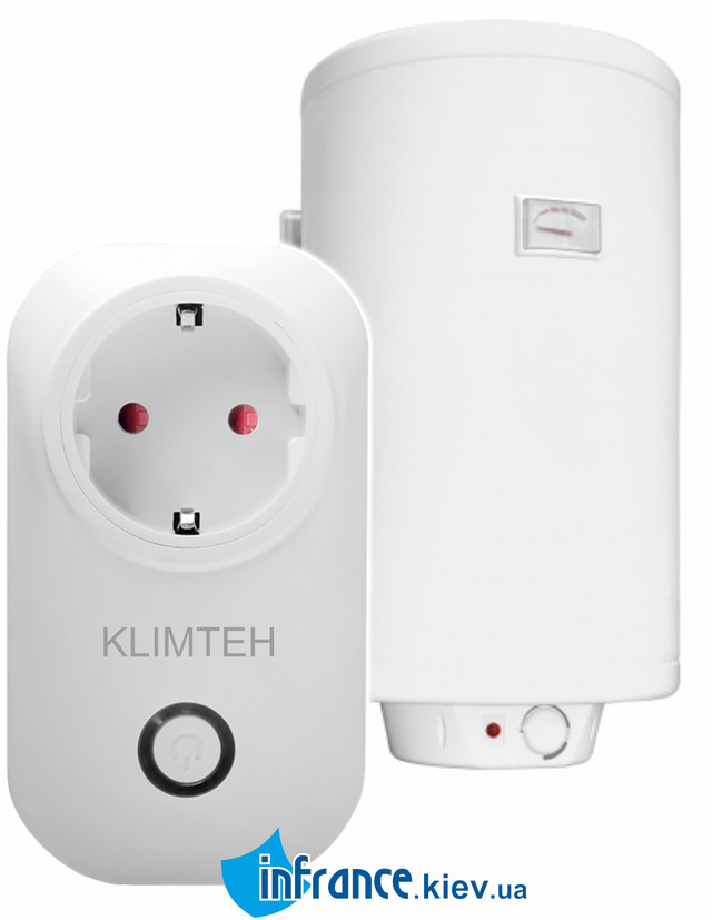 WiFi розетка для бойлеров Klimteh Smart U-02