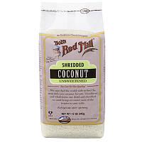 Кокос измельченный, Shredded Coconut, Bob's Red Mill, 340 г