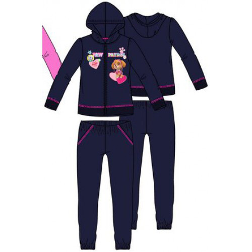 Теплый спортивный костюм для девочки.Щенячий патруль.Франция