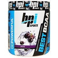 Аминокислоты BCAA (виноград), BPI Sports, 300 г.