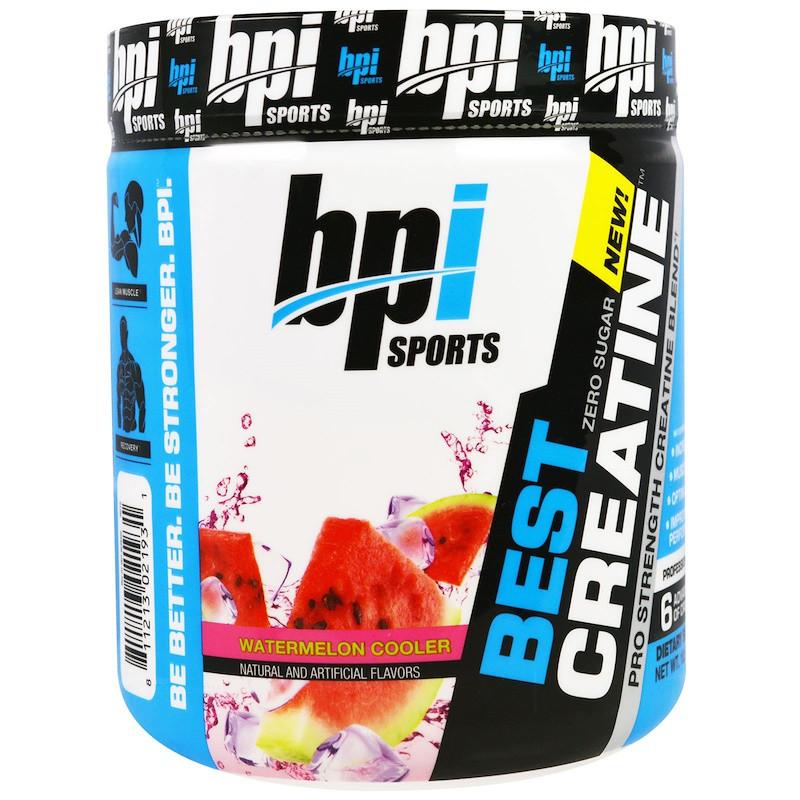 BPI Sports, Best Creatine Pro Strength Creatine Blend, Watermelon Cooler 10.58 oz (300 g)