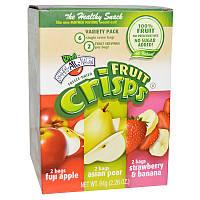 Фруктовые чипсы, Fruit Crisps Variety Pack, Brothers-All-Natural, 6 пак.