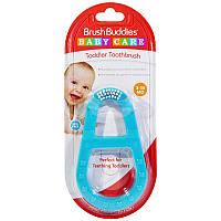 Детская зубная щетка, Toddler Toothbrush, Brush Buddies, 1 шт