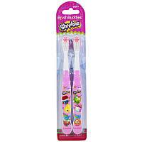 Brush Buddies, Зубная щетка Shopkins, мягкая, 2 шт.