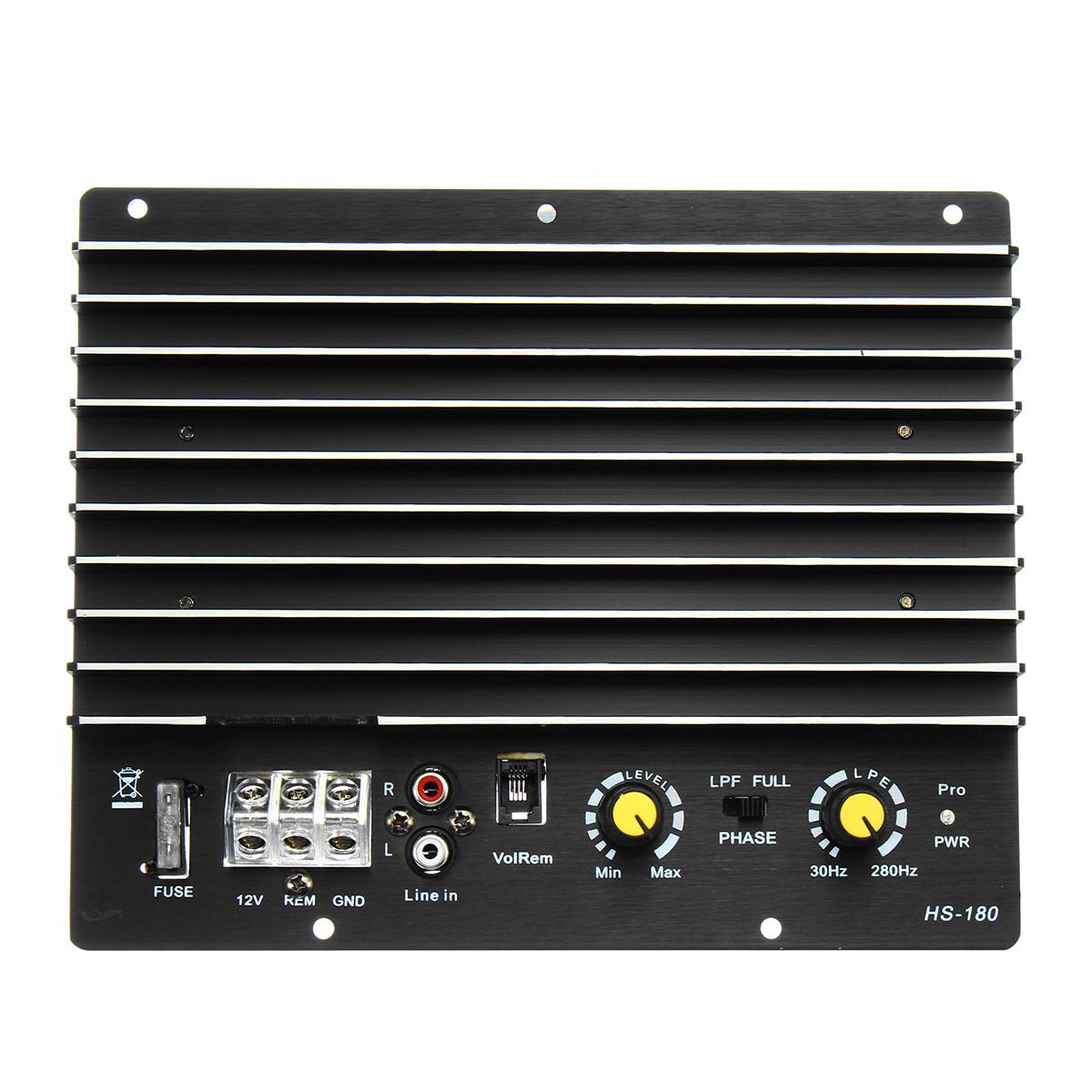 12V 1000W Авто Аудио мощность Усилитель Board Audio Player для 8/10/12 дюймов Динамик 1TopShop