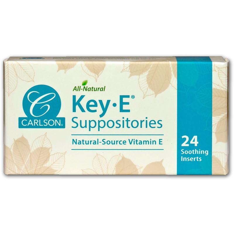 Вагинальные суппозитории с витамином е