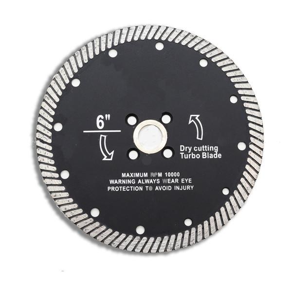 6 дюймов Супер тонкая алмазная пила Лопасти Режущие диски для Керамический Фарфоровая мраморная резка 1TopShop