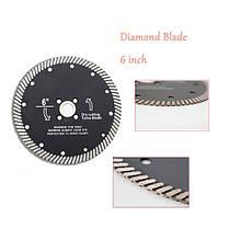 6 дюймов Супер тонкая алмазная пила Лопасти Режущие диски для Керамический Фарфоровая мраморная резка 1TopShop, фото 3