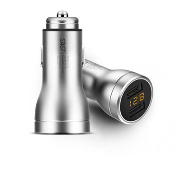 SASTAY-T65АвтоЗарядноеустройствоDual USB 3.6A Авто Прикуриватель 1 В 2 1TopShop