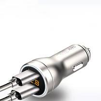 SASTAY-T65АвтоЗарядноеустройствоDual USB 3.6A Авто Прикуриватель 1 В 2 1TopShop, фото 2