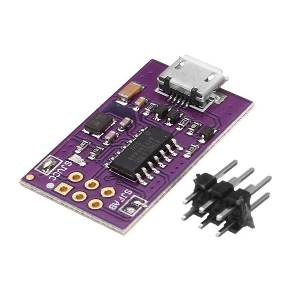 5Pcs 5V Micro USB Tiny AVR ISP ATtiny44 USBTinyISP для Arduino загрузчика - 1TopShop